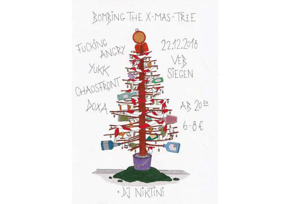 Bombing the X-Mas Tree