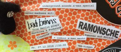 Underground.sounds x-mas.special mit De Ramönsche & Bad Brians