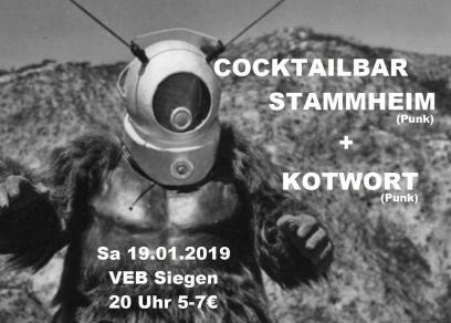 Cocktailbar Stammheim + Kotwort