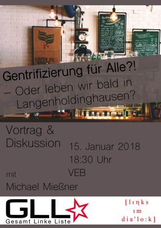 Vortrag: Gentrifizierung für Alle?!