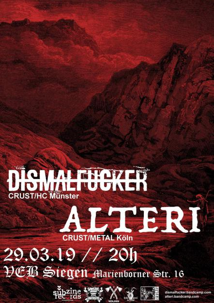 Dismalfucker, Alteri, MindPlague
