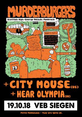 Murderburgers / City Mouse / Hear Olympia