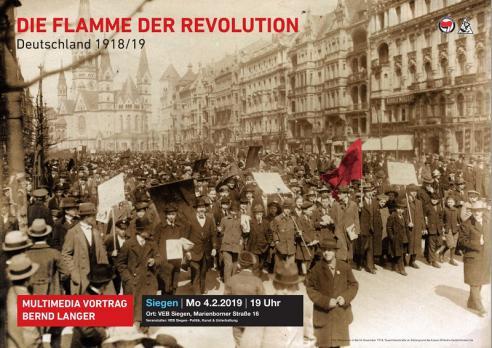Bernd Langer: Die Flamme der Revolution Buchvorstellung/Multimediavortrag